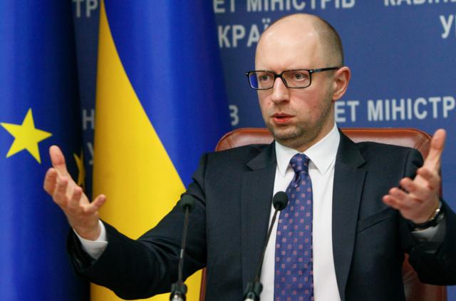 "Arseniy Yatsenyuk : ""나는 솔직히 내 일을 했어!""또는 무어의 뒤쪽에있는 몇 마디"