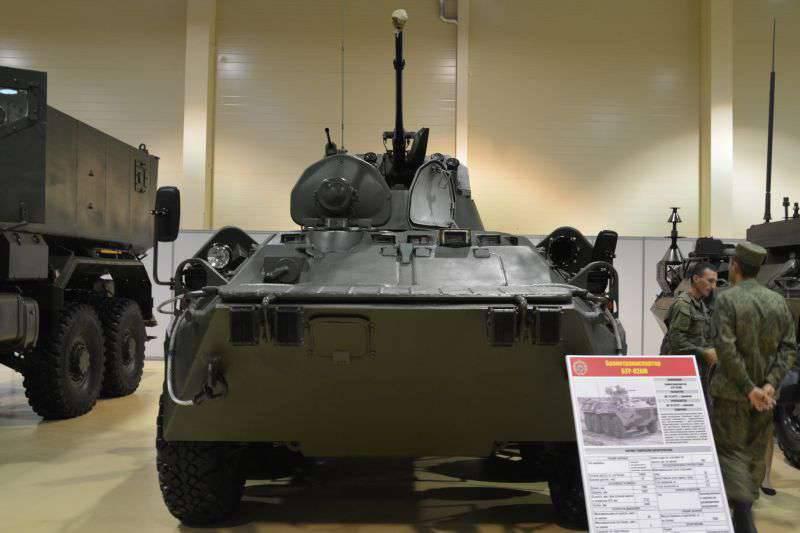 Das Verteidigungsministerium bestellte eine weitere Charge BTR-82A