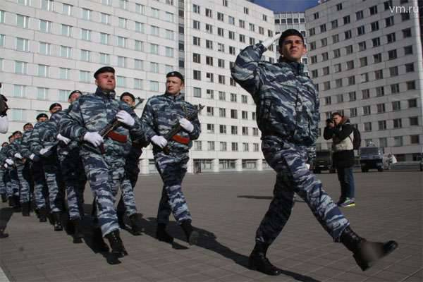 The National Guard of the Russian Federation is invited to call Rosgvardia