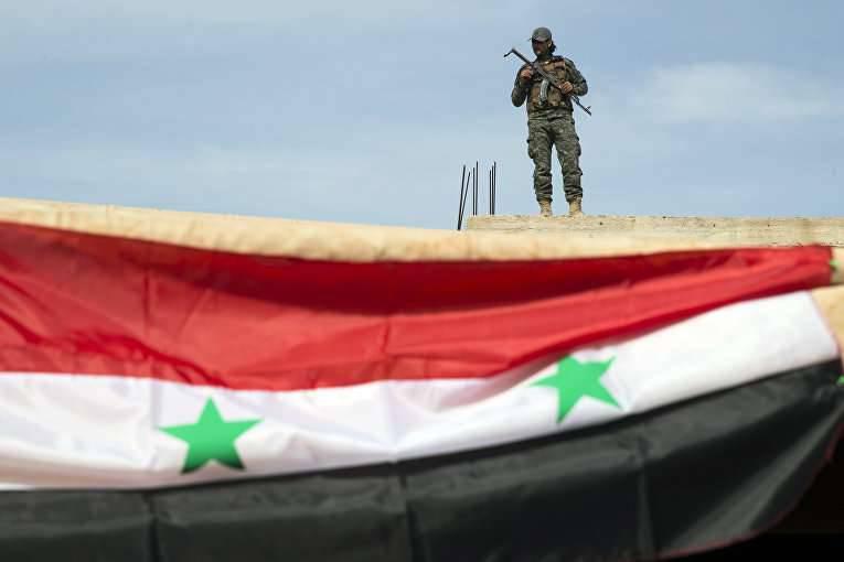 General Kuralenko zur Lage in Syrien