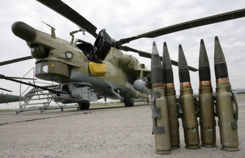 Il russo Mi-28H si è schiantato in Siria. Due piloti sono morti
