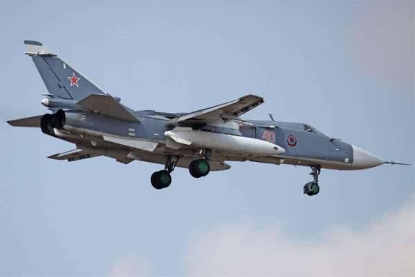 Ejercicios de aviación de bombarderos delanteros celebrados en el territorio de Khabarovsk