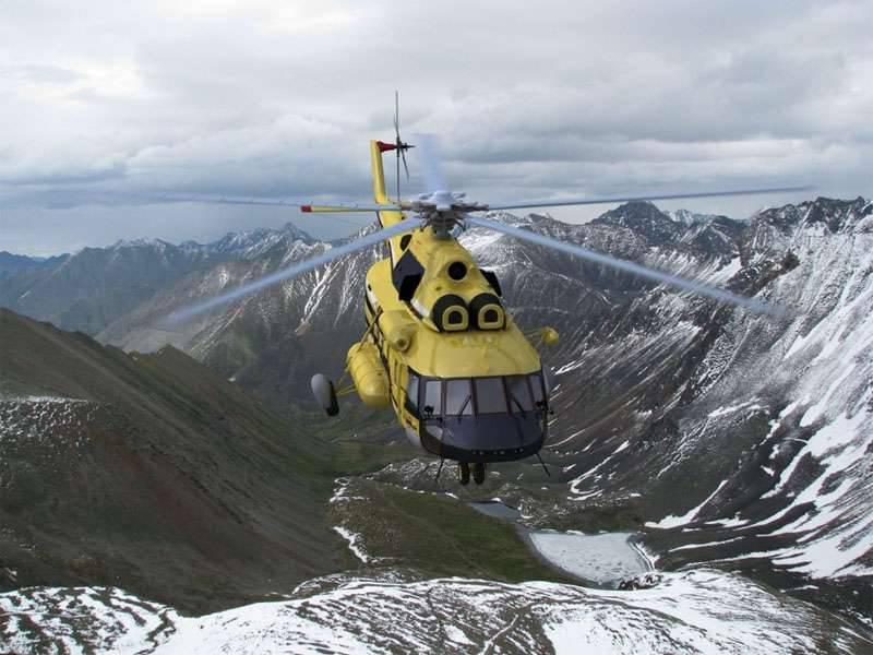 中多目的ヘリコプターMi-5  -  171の2番目のプロトタイプは飛行試験のために準備されています