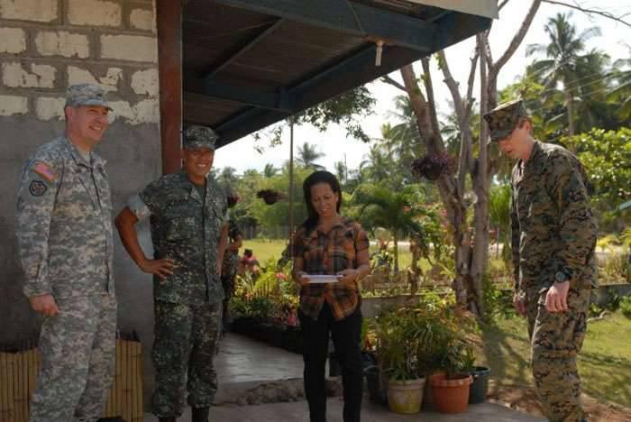 菲律宾的五个军事基地很少,他们在五角大楼决定并决定再开几个