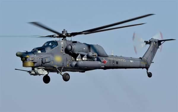 러시아 연방 수사 국 (VKS)에서 시리아에있는 Mi-28H 헬리콥터 추락의 가장 큰 원인을 불렀다.
