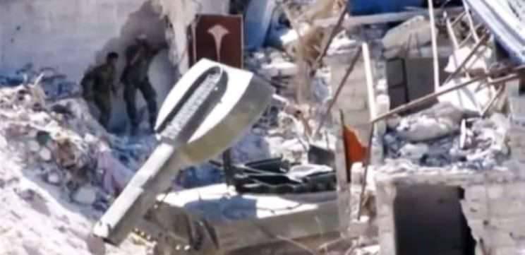 """UR-77 """"Meteorito"""" na Síria"""
