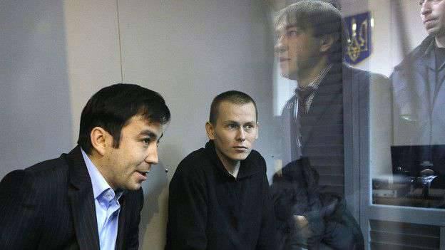 """Evgeny Erofeev dans la salle d'audience à Kiev: """"Au moment de l'arrestation par la partie ukrainienne, j'étais un combattant de la milice populaire du LPR"""""""