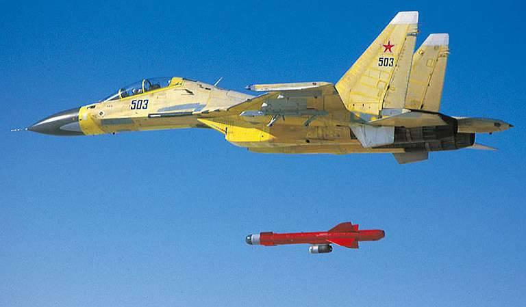 大众媒体:在2015,俄罗斯向中国交付了200 ASM X-59MK