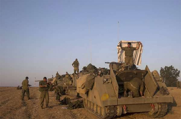 The army of Israel began military exercises in the Golan Heights