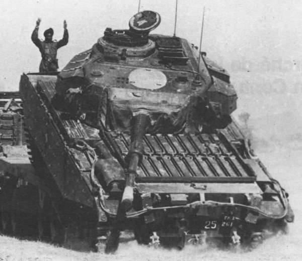 Basantar川によるインドのタンカーの不平等な戦い