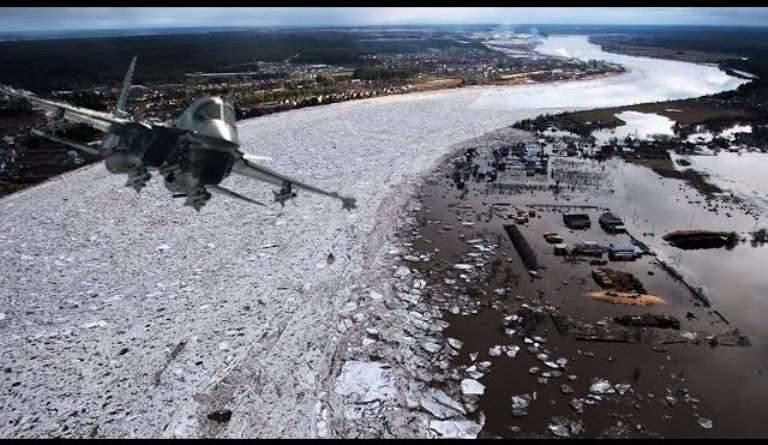 Un video de las huelgas de Su-34 en atascos de hielo se ha publicado en línea.
