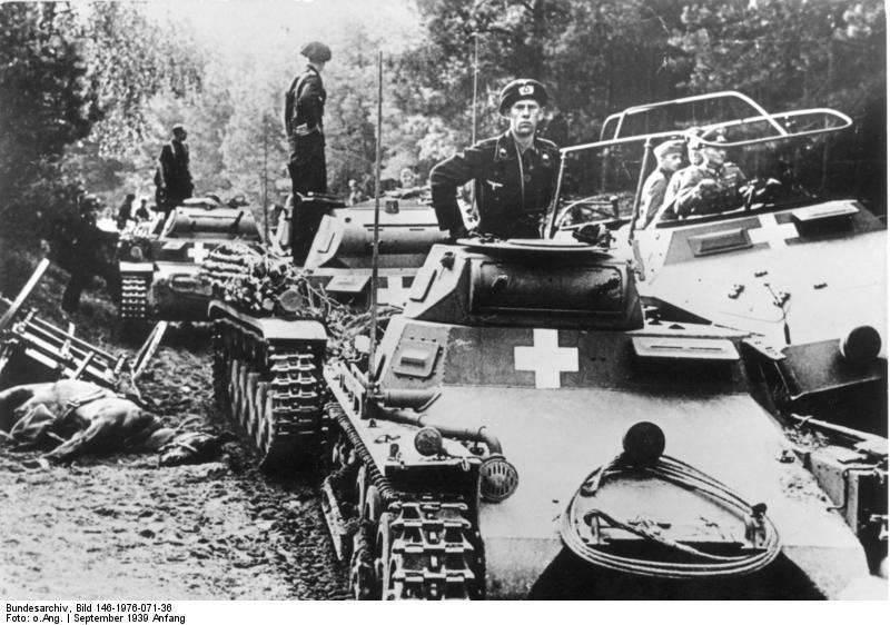 Blitzkrieg-Panzer im Kampf (Teil von 1)