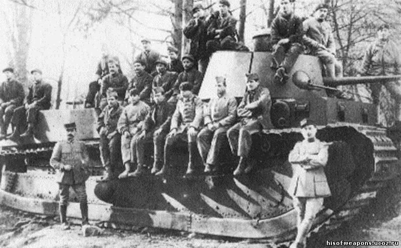 法国重量级人物。 坦克迟到战争