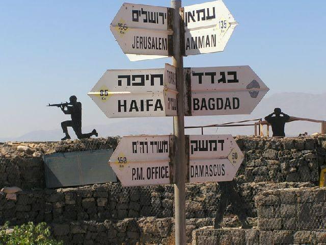 イスラエルのイチジク:ゴラン高原