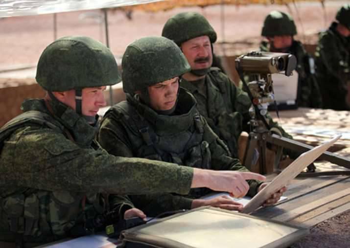 在测试框架中的阿穆尔地区,一个机动步枪单元被警告
