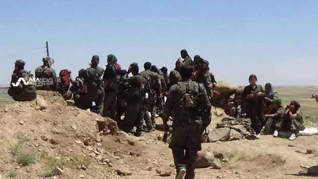 20 Abril Luchando en Siria