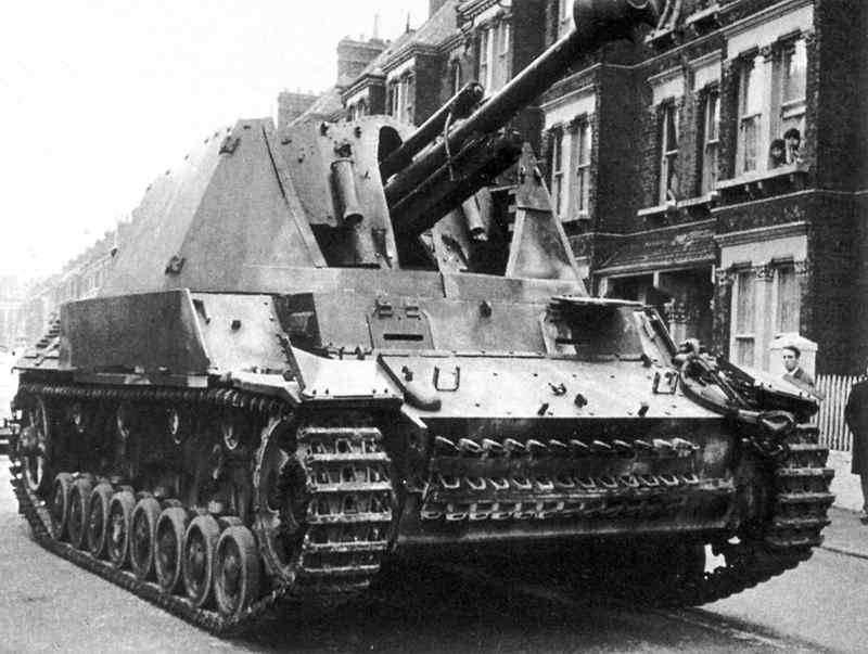 प्रोजेक्ट SAU Leichte PzH18 / 40 / 2 auf Geschützwagen III / IV (Sf), जर्मनी