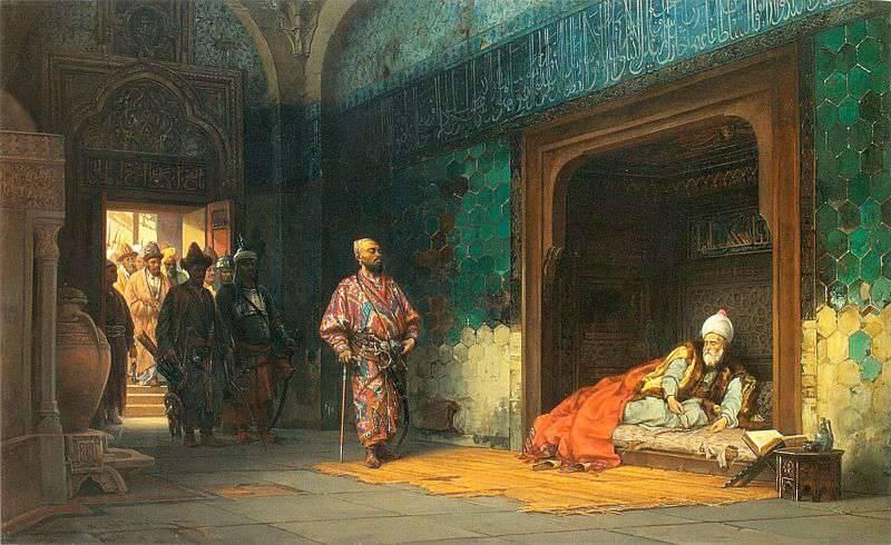 オスマン帝国の7年の行進と敗北