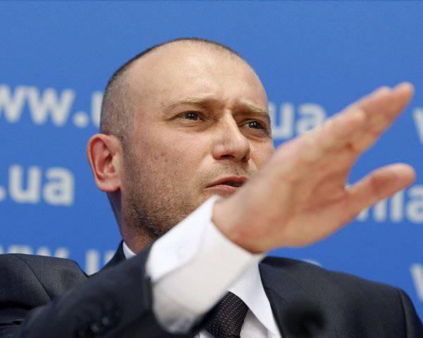 Pourquoi Yarosh a-t-il parlé de l'effondrement de l'Ukraine et Zakharchenko a tracé une «ligne droite» avec Kharkov
