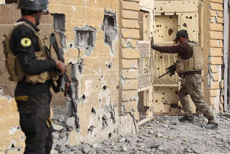 L'esercito iracheno libera la città di Heath dai terroristi