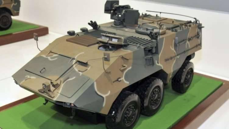 Black Fox Panzerfahrzeug für die malaysische Armee