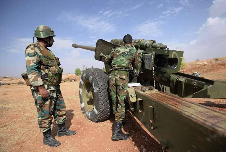 Autorités américaines: la Russie déplace l'artillerie vers le nord de la Syrie (The Wall Street Journal, USA)