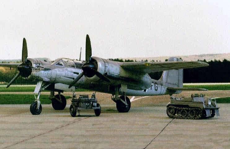 "Ta.xnumx. Wooden ""Anti-Mosquito"" Luftwaffe"