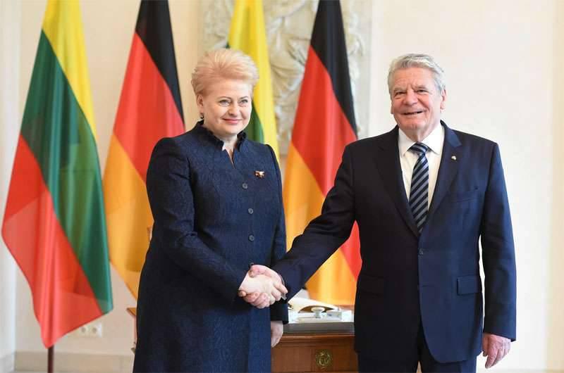 Grybauskaiteは、バルト諸国で偶発的なNATOの数を増やすようにもう一度呼びかけた