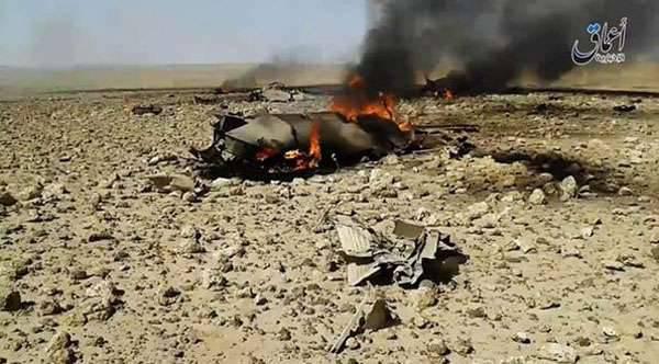 Piloto sirio caído cerca de Damasco MiG-23 fue capturado por militantes