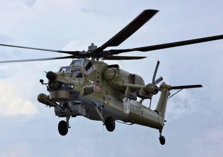 Das Verteidigungsministerium bestellte die Hubschrauber Mi-28UB und Mi-26