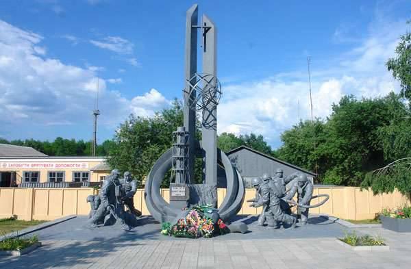체르노빌 재해 30 년. 화재 영웅의 추억