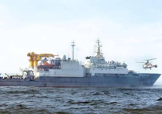 """Letonia está """"preocupada"""" por la aparición de un barco de rescate ruso a 5 millas de las fronteras marítimas del país"""