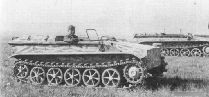 Máquinas de jateamento controladas remotamente da família Borgward Sd.Kfz.301 (Alemanha)