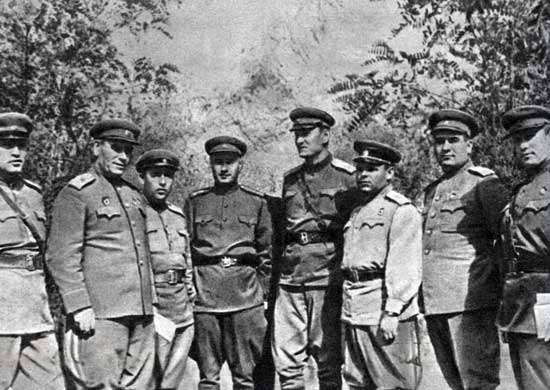 सोवियत संघ के दो बार हीरो ग्रीको आंद्रेई एंटोनोविच