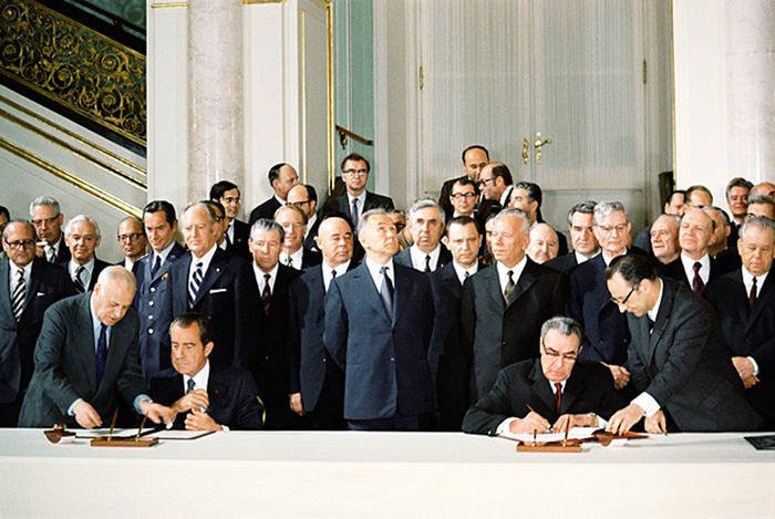 USSR Treaties with the United States on SALT and PRO