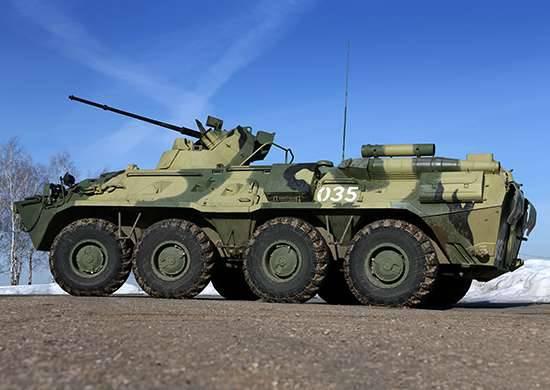 ATS政府军从拉塔基亚BTR-82A转移到阿勒颇地区