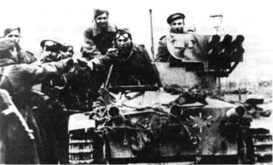 Installazione artiglieria semovente anticarro a carro armato Wanze (Germania)