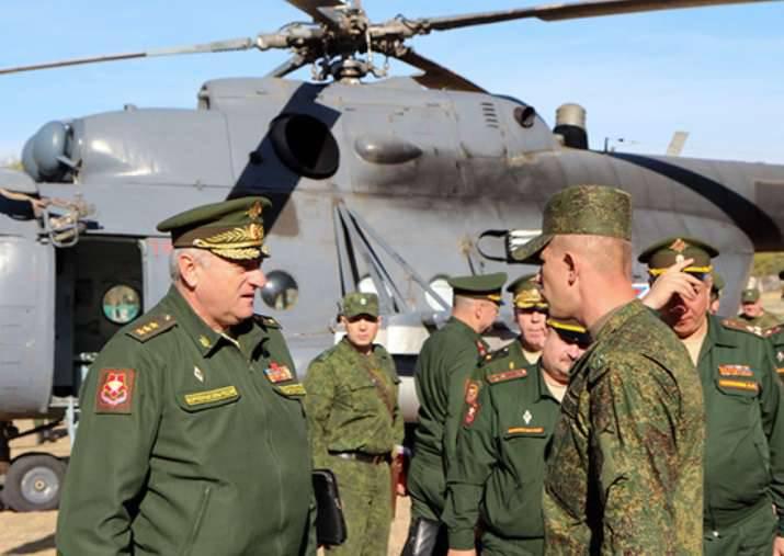 En el Distrito Militar Central, se está trabajando en la creación de una zona de exclusión aérea en la región de Asia Central.
