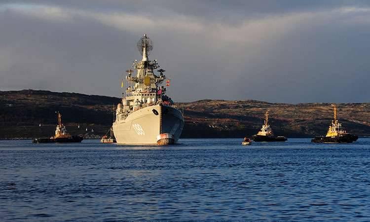 Russland verstärkt seine Präsenz auf See