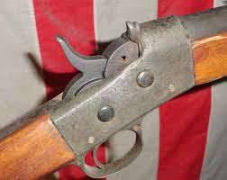 Mais uma vez para a pergunta sobre o rifle Remington com uma válvula de borboleta (parte 1).