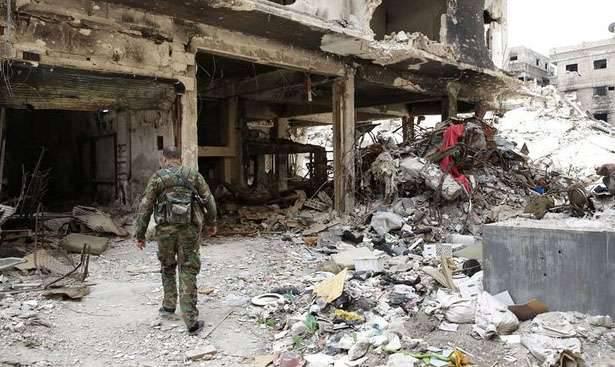シリア政府軍がダマスカス県のいくつかの重要な目標を撃退