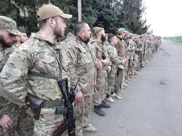 """The militants of """"Azov"""" began to """"patrol"""" the border of Ukraine with Transnistria"""