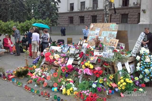 Odessa em antecipação ao aniversário de maio