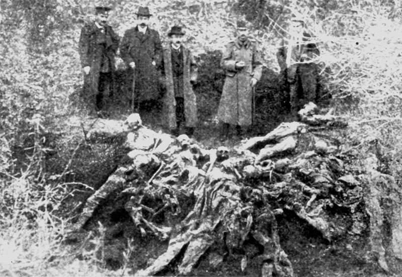 Surdulitsaでの射撃の犠牲者