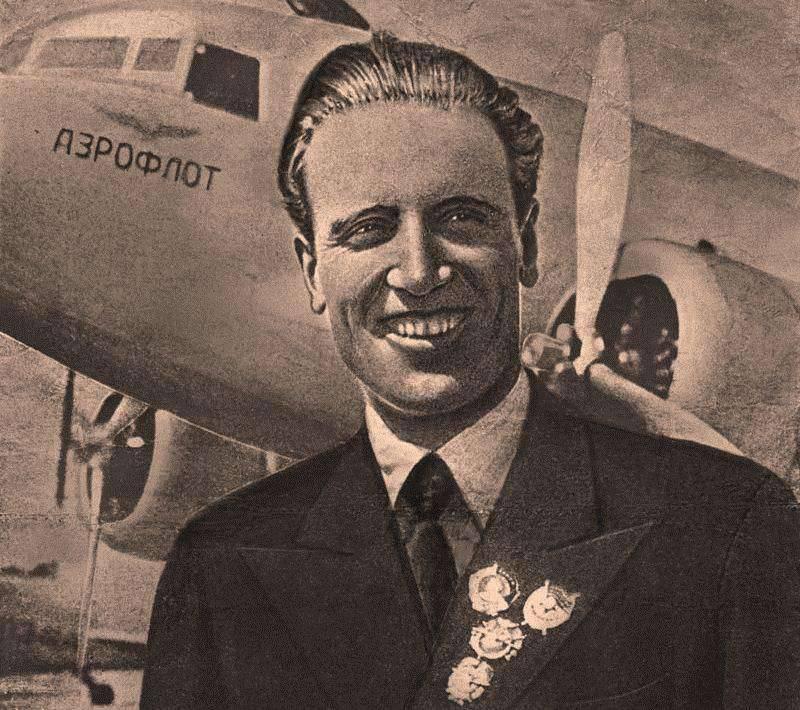 Le pilote en chef d'Aeroflot. Encore une fois à propos du maréchal A. Golovanov