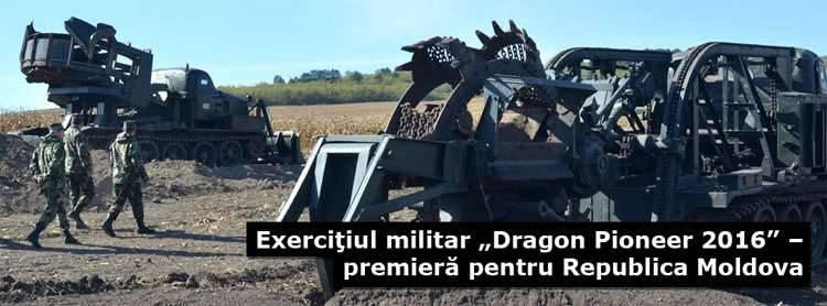 """La Moldavia si sta preparando ad ospitare il contingente americano per lo svolgimento di """"esercitazioni"""" militari congiunte Dragon Pioneer-2016"""