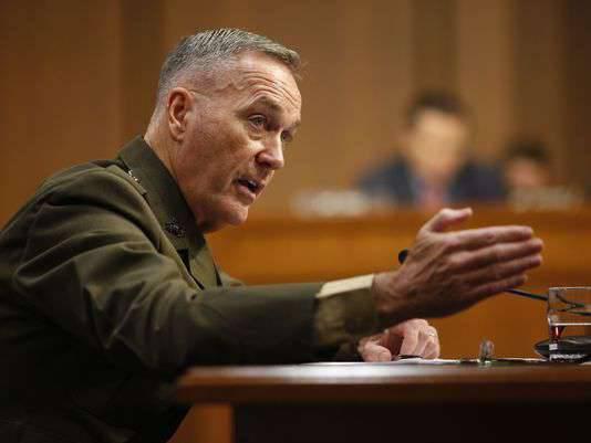 """El Pentágono dijo que en el caso de aviones rusos volando sobre sus buques de guerra, """"la respuesta puede seguir"""""""