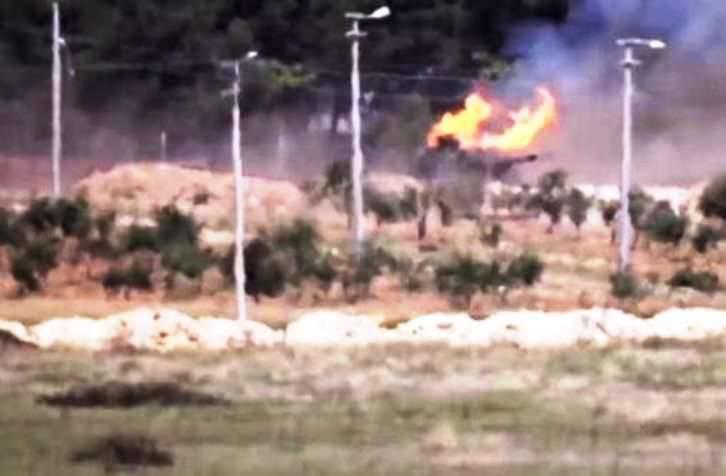 メディア:トルコ人は3つの自走式銃を失ったFirtina