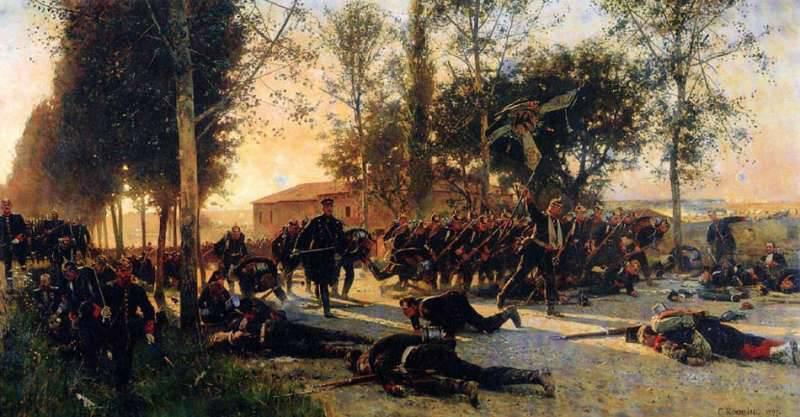 Битва при Сен-Прива — Гравелот