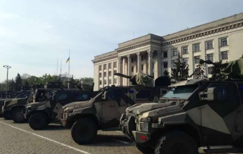 Les unités de combat sont arrivées à Odessa de la zone ATO - des «chirurgiens de la guerre» de «Shaitanbat»